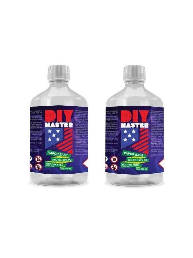 Buy DIY Master 500 ml 70/30 VP/PG 0 mg Base in our eshop –