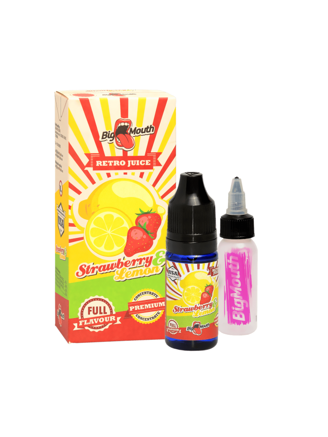 Buy Strawberry & Lemon flavor concentrate in our eshop –