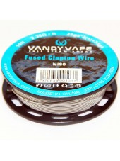 Buy Vandy Vape Triple Fused Clapton Ni80 Wire in our eshop –