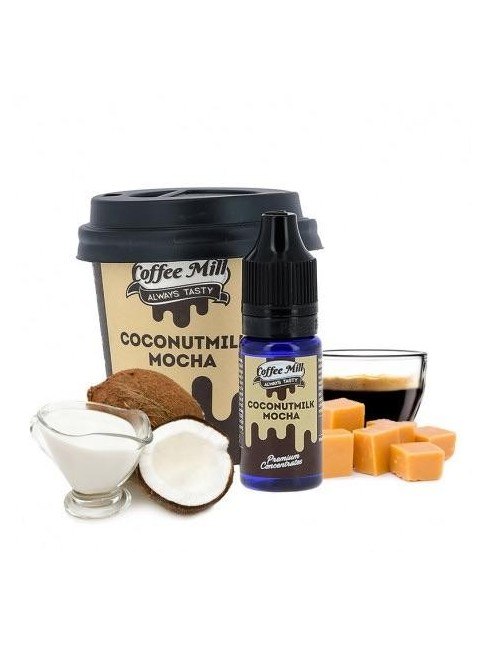 Buy Coconutmilk Mocha flavor concentrate in our eshop –