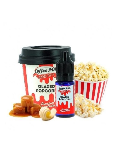 Buy Glazed Popcorn flavor concentrate in our eshop – 7Vapes.no