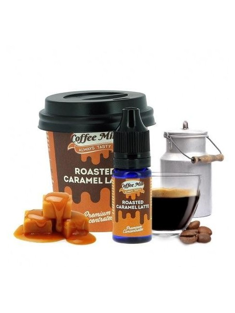 Buy Roasted Caramel Latte flavor concentrate in our eshop –