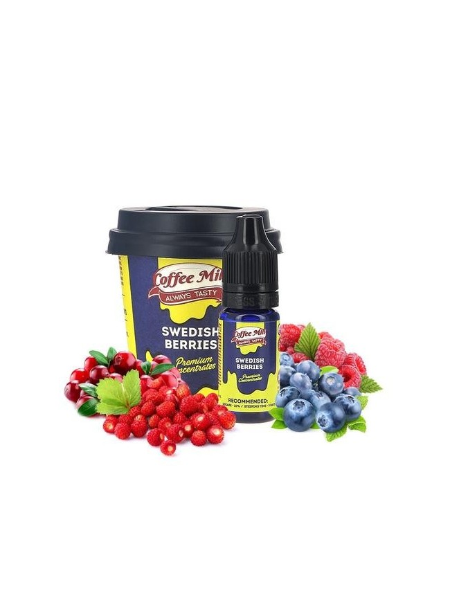 Buy Swedish Berries flavor concentrate in our eshop – 7Vapes.no