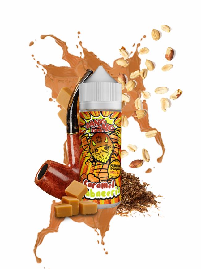 Kjøp Caramel Tabaceria 100 ml E-væske i vår nettbutikk –