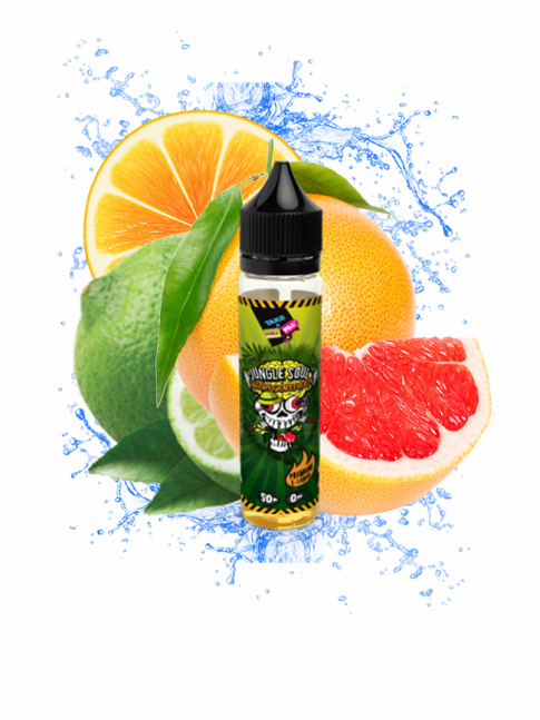 Kjøp Jungle Soul - Slushy Grapefruit 50 ml E-væske i vår