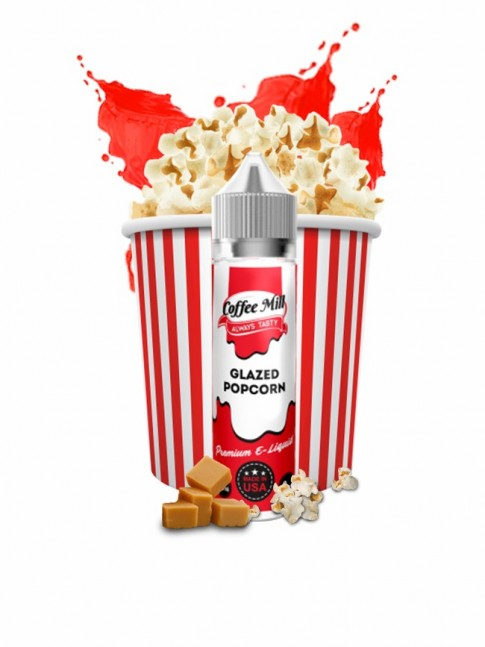 Buy Glazed Popcorn 50ml E-liquid in our eshop – 7Vapes.no