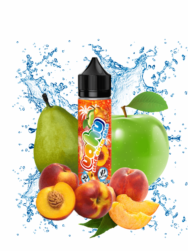 Buy Peach On The Beach 50 ml E-liquid in our eshop – 7Vapes.no