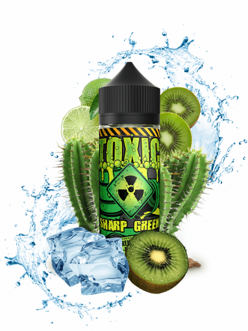 Buy Sharp Green 100 ml E-liquid in our eshop – 7Vapes.no