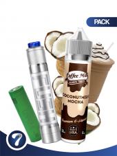 Kjøp FUSH semi-mech kit + 50 ml E-liquid i vår nettbutikk –