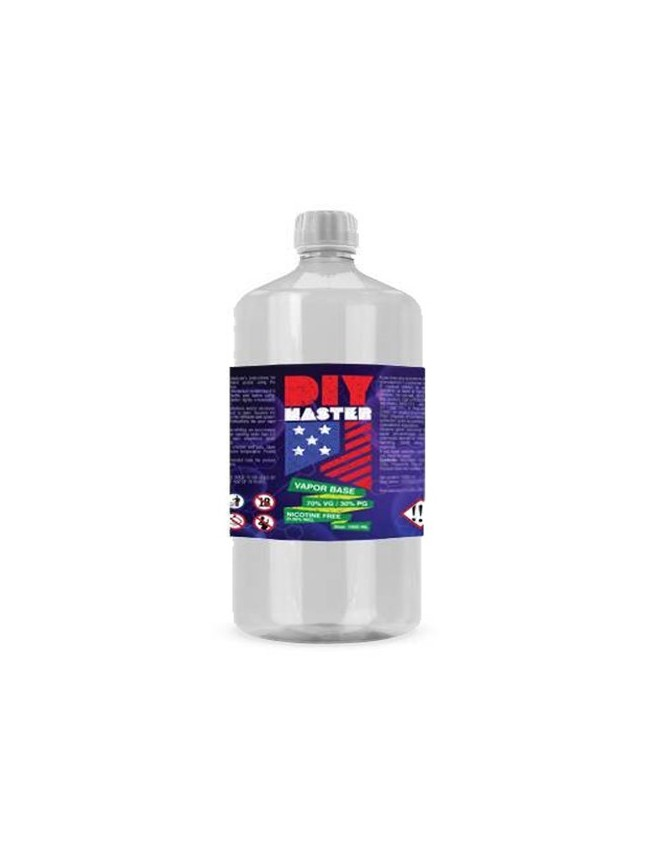 Buy DIY 1000 ml 70/30% 0 mg Base at Vape Shop – 7Vapes