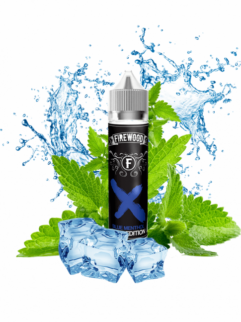 Kjøp Blue Menthol 50 ml E-væske i vår nettbutikk – 7Vapes.no