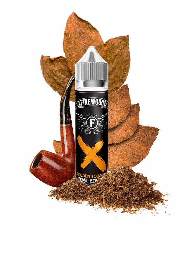 Buy Golden Tobacco 50 ml E-liquid in our eshop – 7Vapes.no