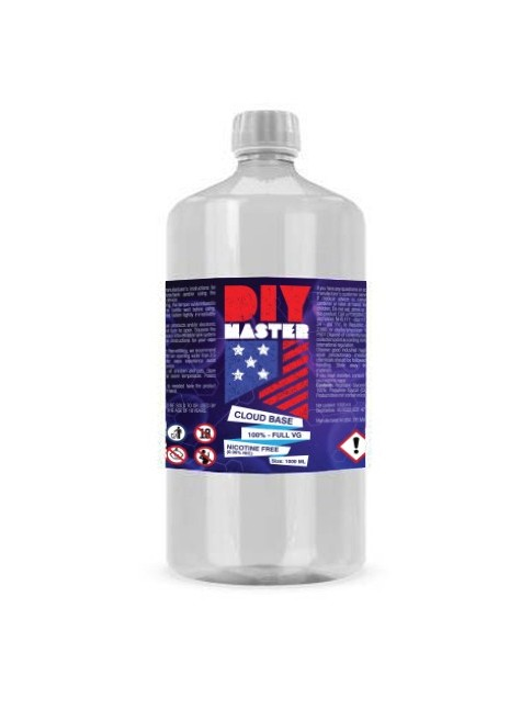 Buy DIY Master 1000 ml 100 VG 0 mg Base in our eshop – 7Vapes.no