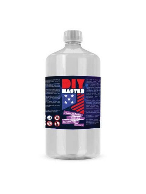 Buy DIY Master 1000 ml 100 VP 0 mg Base in our eshop – 7Vapes.no