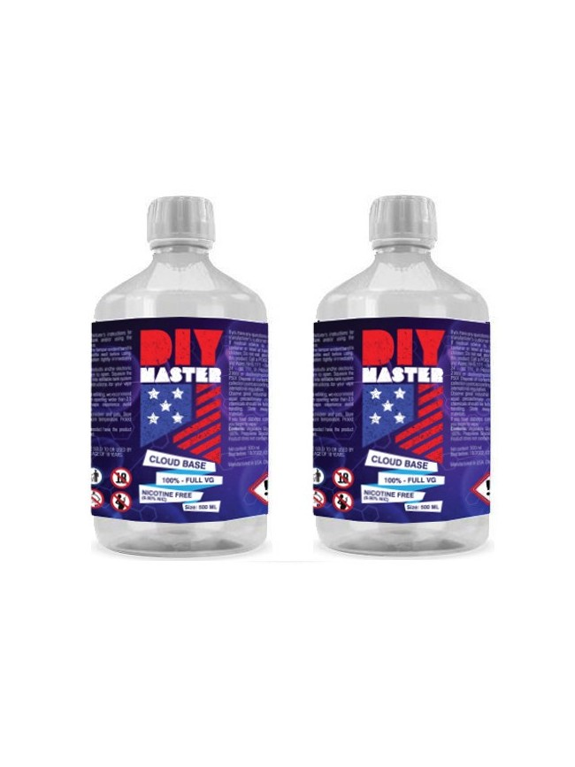 Buy DIY Master 500 ml 100VG 0 mg Base in our eshop – 7Vapes.no