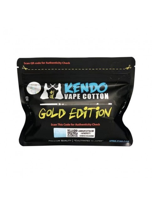 Buy Kendo Vape Cotton Gold Edition at Vape Shop – 7Vapes