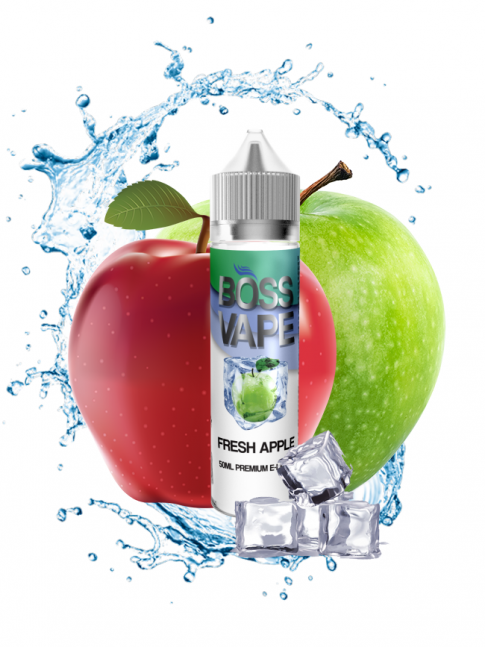 Buy Fresh Apple 50 ml at our eshop – 7Vapes.no