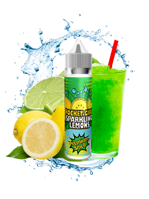 Buy Sparkling Lemons 50 ml at our eshop – 7Vapes.no