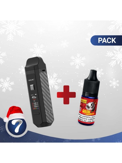 Buy SMOK RPM kit + Mama Russia 20mg Eliquid at our eshop –