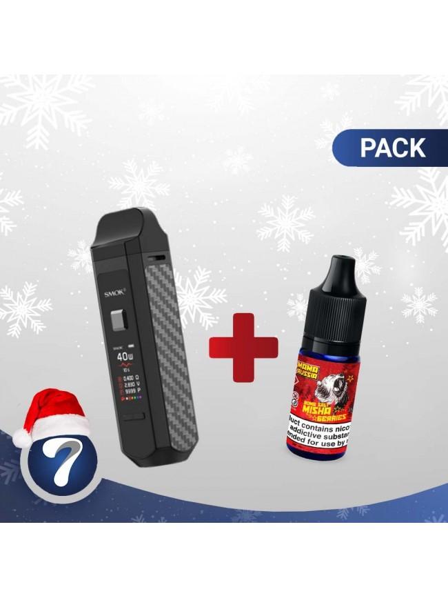 Kjøp SMOK RPM kit + Mama Russia 20mg Eliquid E-væske i vår