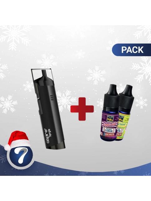 Kjøp Aspire Spryte kit + 2 Salt Vape City 20Mg Bottles E-væske