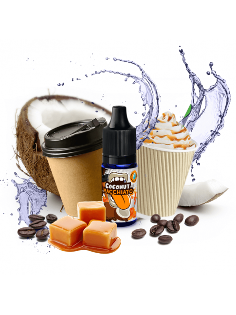 Buy Coconut Macchiato flavor concentrate in our eshop –