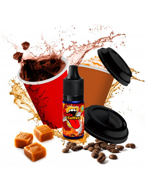 Buy Cola Coffee flavor concentrate in our eshop – 7Vapes.no