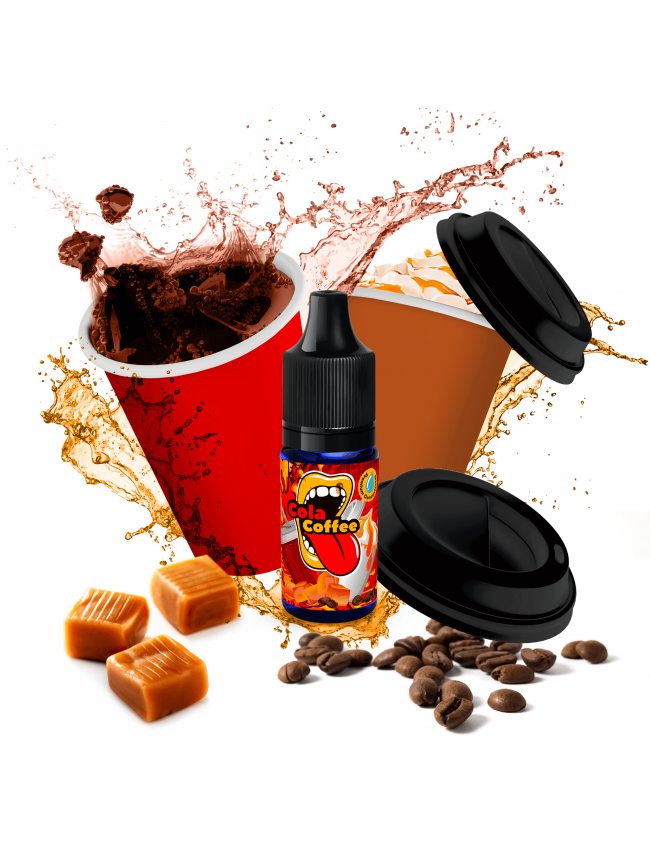 Kjøp Cola Coffee i vape shop i norge - 7Vapes.no