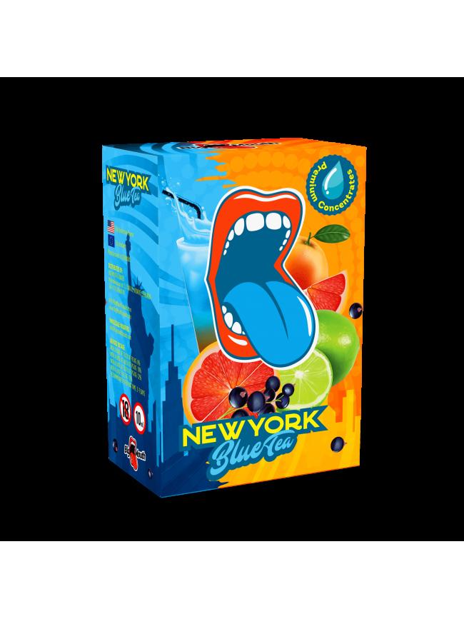 Kjøp New York Blue Tea i vår nettbutikk – 7Vapes.no E-Sigaretter