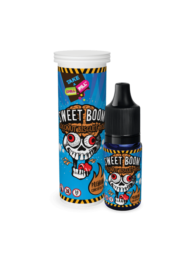 Buy Sweet Boom - Coconut Biscuit Roll flavor concentrate in our