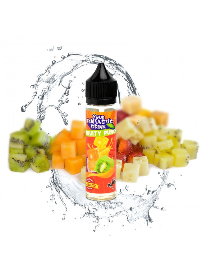 Buy Fruity Punch 50 ml E-liquid in our eshop – 7Vapes.no