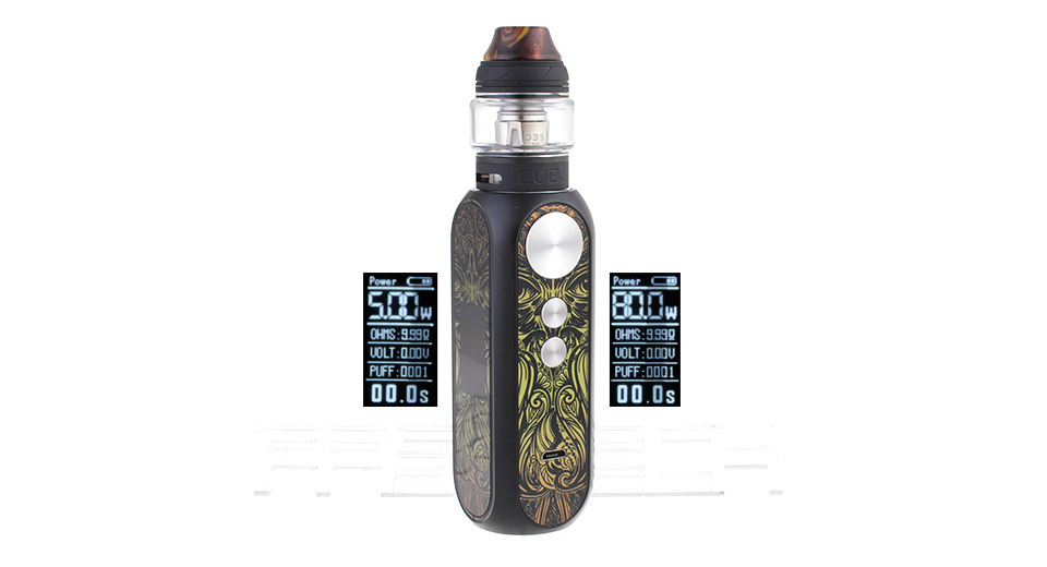 Buy OBS CUBE X 80W starter kit and enjoy vaping! Find the latest electronic cigarettes built from box mods, squonk mods, clearomizers, RDA's & RTA's at vape